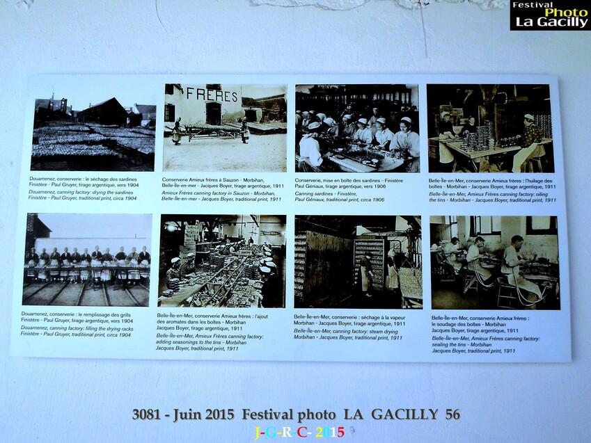EXPOSITION PHOTO 2015  N° 7 Musée de BRETAGNE  LA  GACILLY  56  3/3   D 14/08/2015