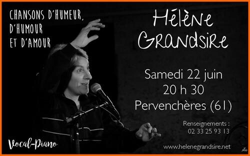 Concert à Pervenchères (61), samedi 22 juin