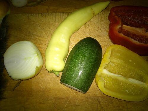 Des petits samoussas légumes chèvre