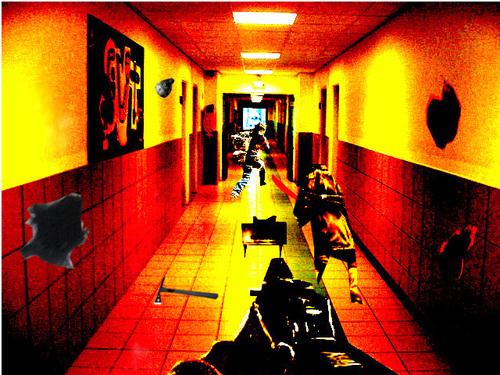 Le couloir fantastique  Niveau 5 ème St Pol