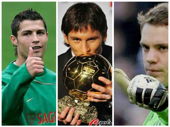 photo Messi le gagnant du ballon d'or 2014