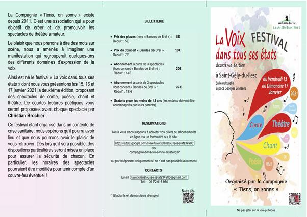 LA VOIX DANS TOUS SES ETATS#2-2021