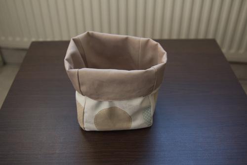 Mylène - Cadeau de Noël : Panières en tissu