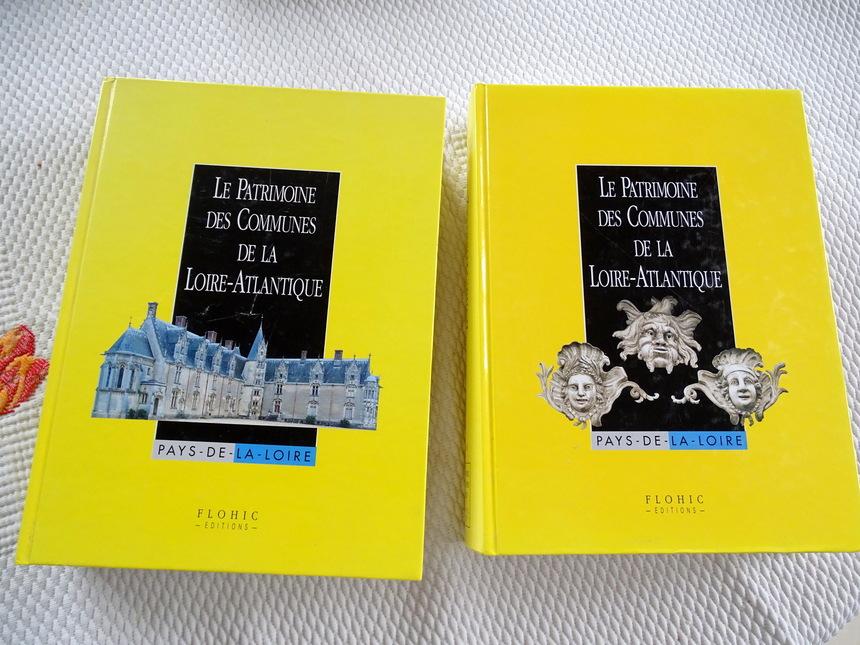 Patrimoine des communes de Loire Atlantique - 2 tomes -  30€