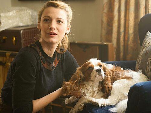 Adaline et son chien