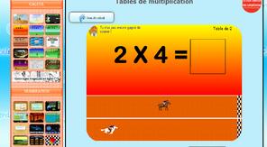 Jeu autour des tables de multiplications