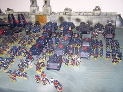 Space Marines : les Crimson Skulls