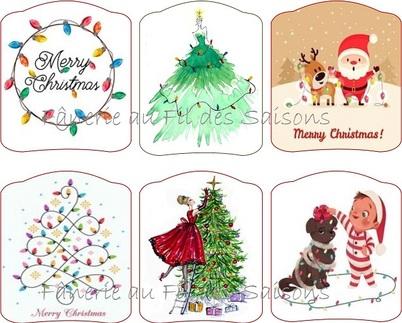 Préparons Noël ... cartonnettes