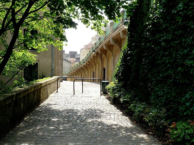 Metz / Le jardin des Tanneurs...