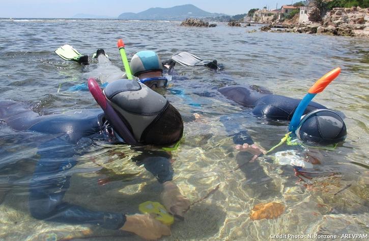 Sentier sous-marin d'Olbia