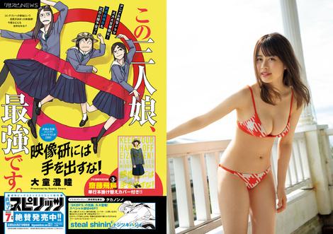 Magazine : ( [Big Comic Spirits] - 2020 / N°28 - Honoka Wakita Centric )