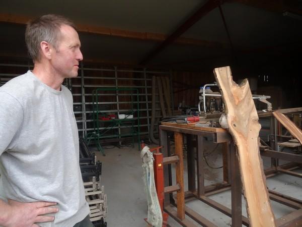"""""""Créabois"""", un atelier de jouets, puzzles, décorations en bois, de Cessey, nous a été présenté lors d'un mardi-découvertes de l'OTPC"""
