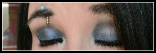 Nat : Make-up du jour avec un pigment ELF
