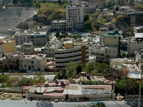 Jordanie: Amman et la citadelle Jabal el-Qal-a