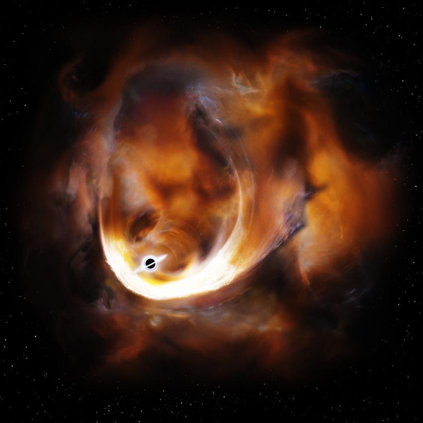 Des astronomes ont repéré dans la Voie lactée un trou noir aux particularités très convoitées