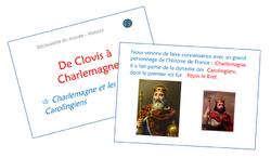 De Clovis à Charlemagne