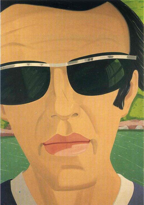 Autoportrait aux lunettes de soleil