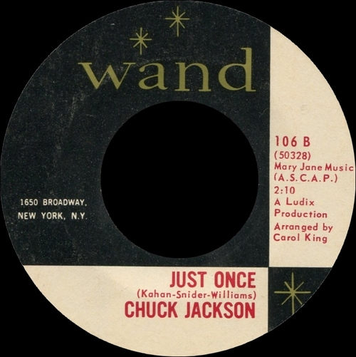 "Chuck Jackson : Album "" I Don't Want To Cry "" Wand Records LP-650 [ US ]"