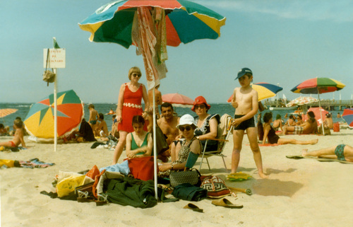 11 - Parapluie, parasol, la plage