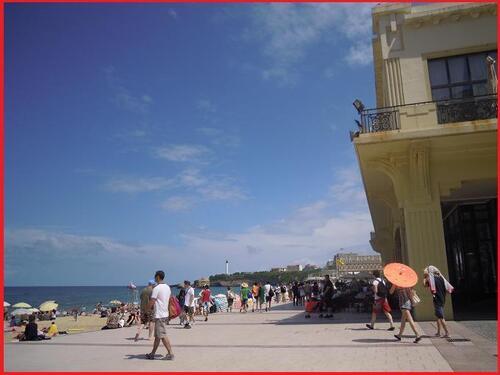 Biarritz entre passé et présent