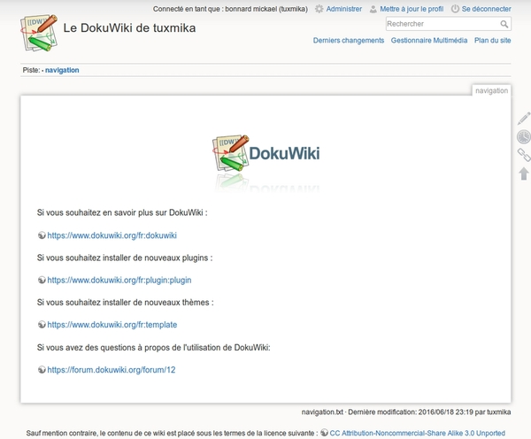 Installer DokuWiki sur Centos 7