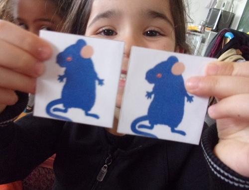Le jeu des souris peintres