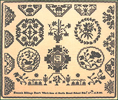 L'empreinte des Quakers sur les travaux de Broderies traditionnelles.(Article dédié à mes copines Patchworkeuses)