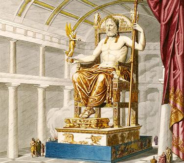 Représentation par Antoine Quatremère de Quincy, 1815 - Source : sylvain-bouchet.blogspot.fr