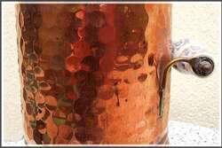 Les mille facettes du cuivre martelé