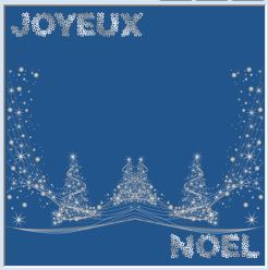 Animation Noel Bleu