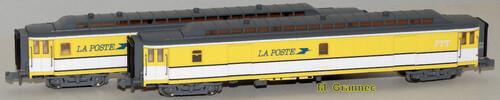 Mikadotrain-REE - Les voitures postales OCEM