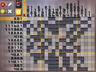Dialga Pokémon Picross