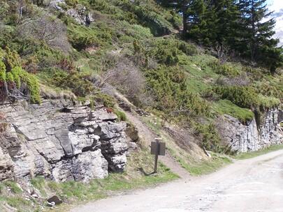 Topo Refuge du Vallonbrun