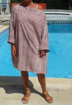 robe de piscine (ou plage)