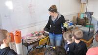 Les éco délégués en visite au Lycée Saint-Vincent