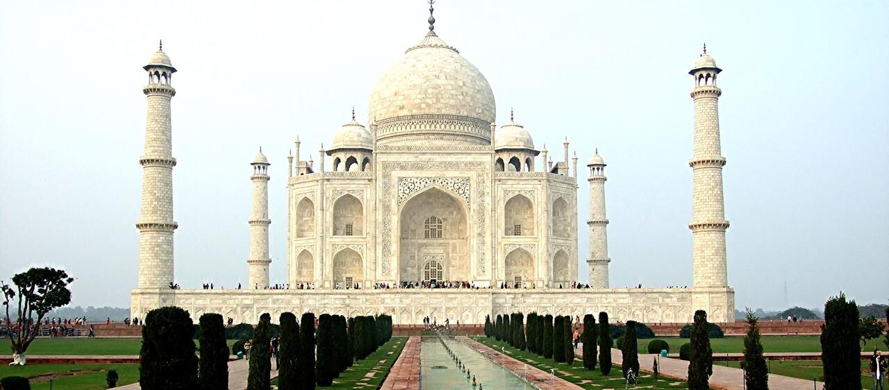 Rajasthan /4/ : Agra : le Taj Mahal