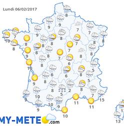 Meteo 10 jours