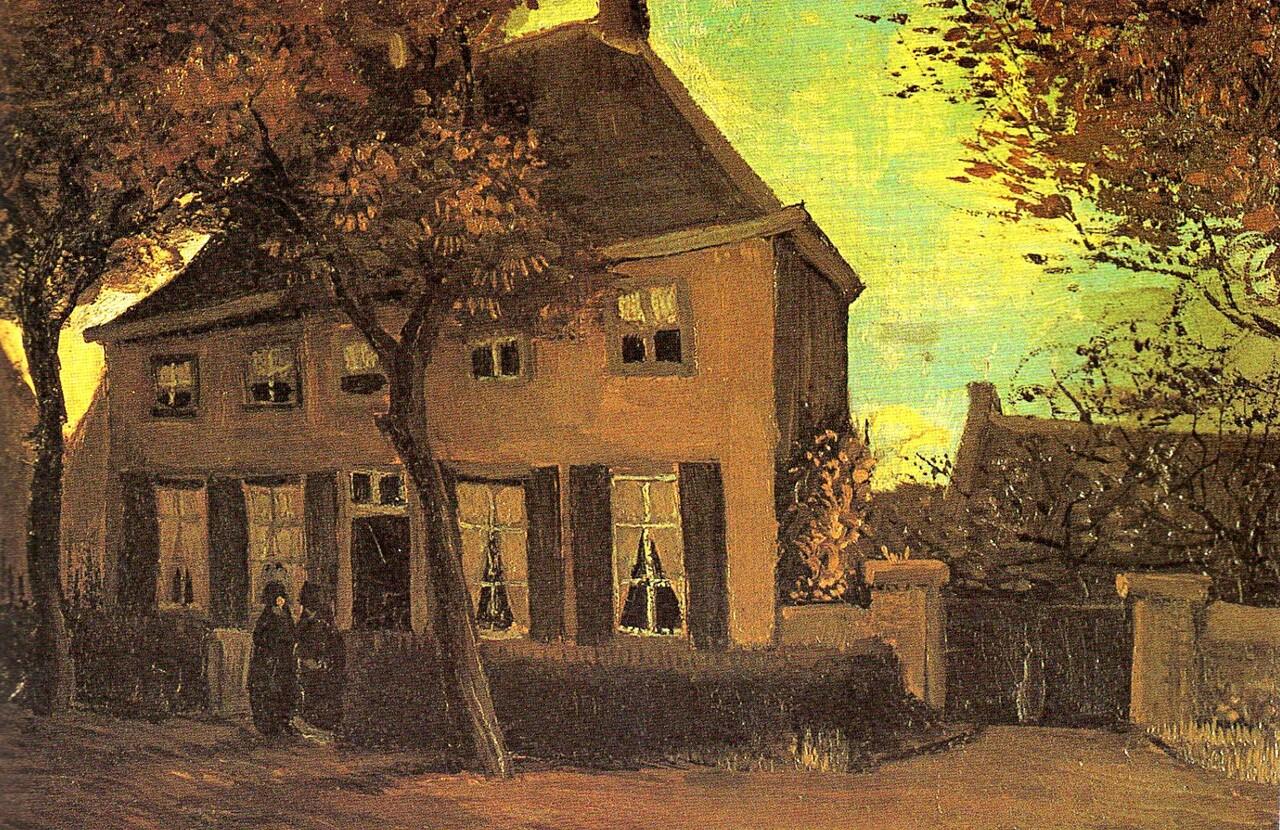 Van gogh /14/ Nuenen , dans le Brabant septentrional