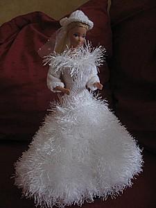 Barbie-mariee d'hiver