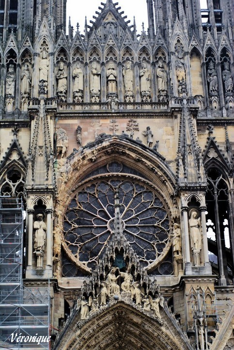 Champagne-Ardenne Marne Reims cathedrale 21