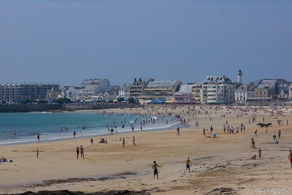 Bretagne  - 8 août - Quiberon? bof...