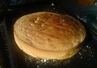 gâteau à la pâte à tartiner pour les 6 ans de Ambre