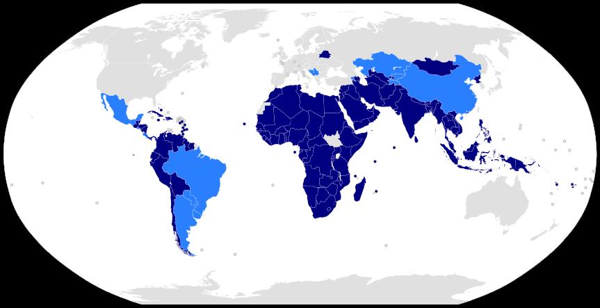 Carte de l'organisation