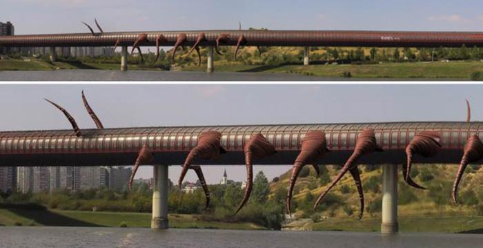 10 sculptures Bizzare de David Cerny