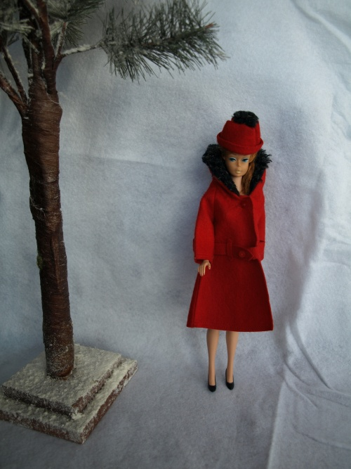 Barbie vintage : It's cold outside