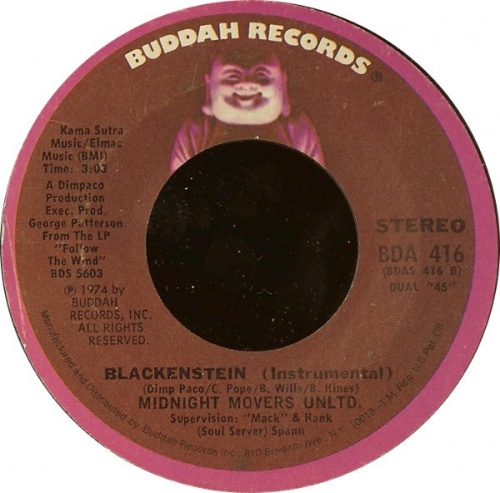 1974 : Single SP Buddah Records BDA 416 [ US ]