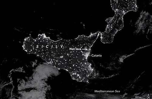 11 mars 1669 : Eruption de l'Etna