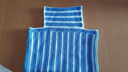 Pochette utile pour travailler avec le crochet ou le tricot