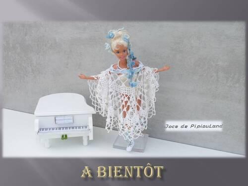 Créations -stylistes 2017 : aérienne robe Papillon (9) et fin