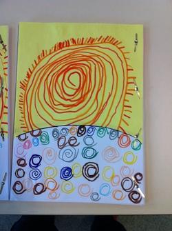 Les spirales d'après Terry Frost, avec les GS